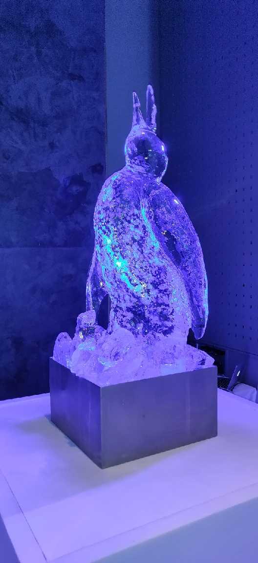 Sculpture ur glace, Cannes, France