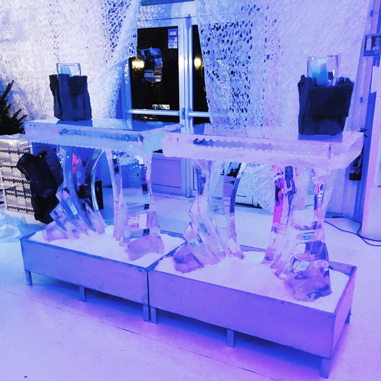 Glace Sculptée, bar en glace