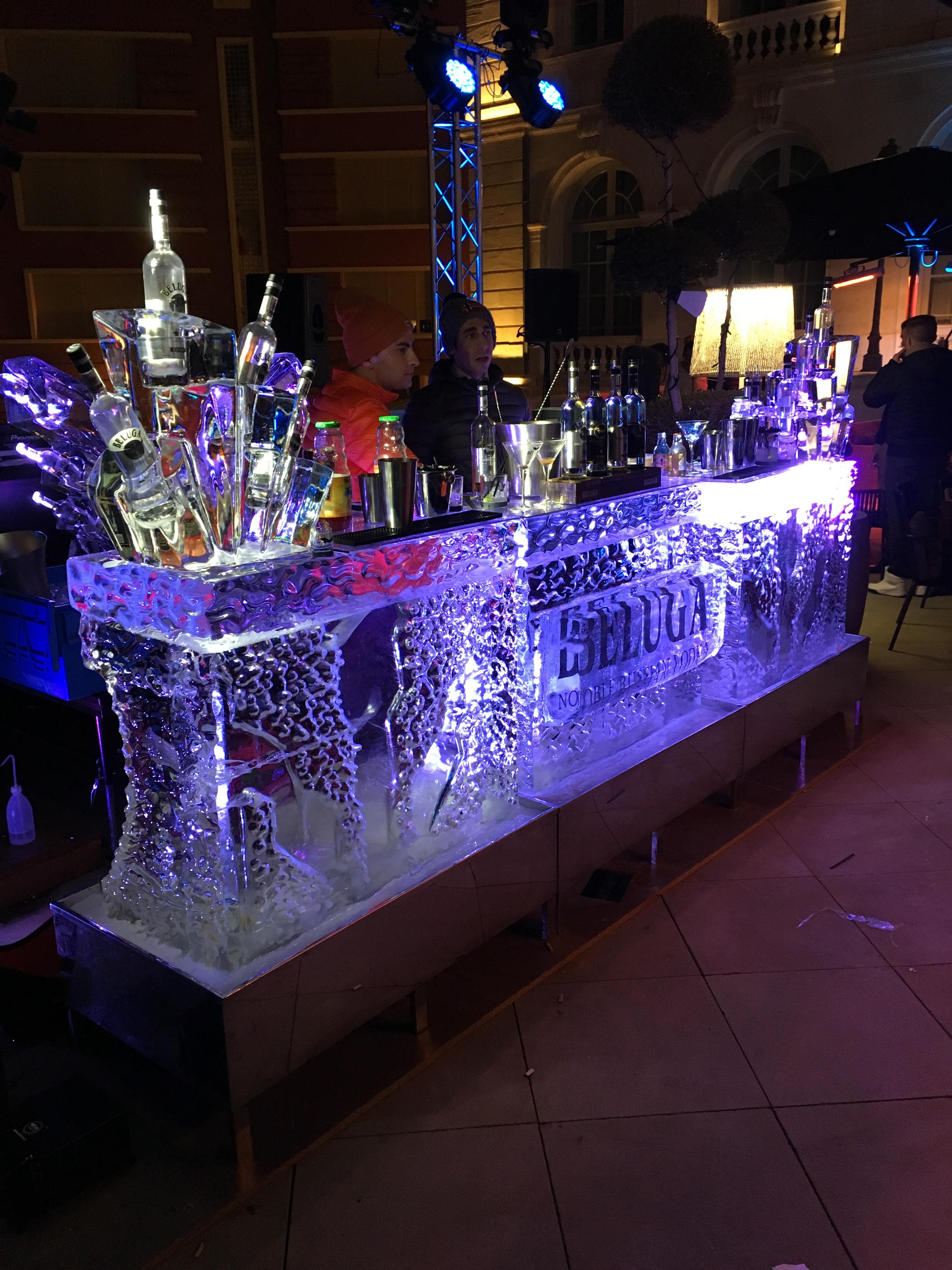 Ice Bar, Bar en glace, bar, sculpture sur glace France