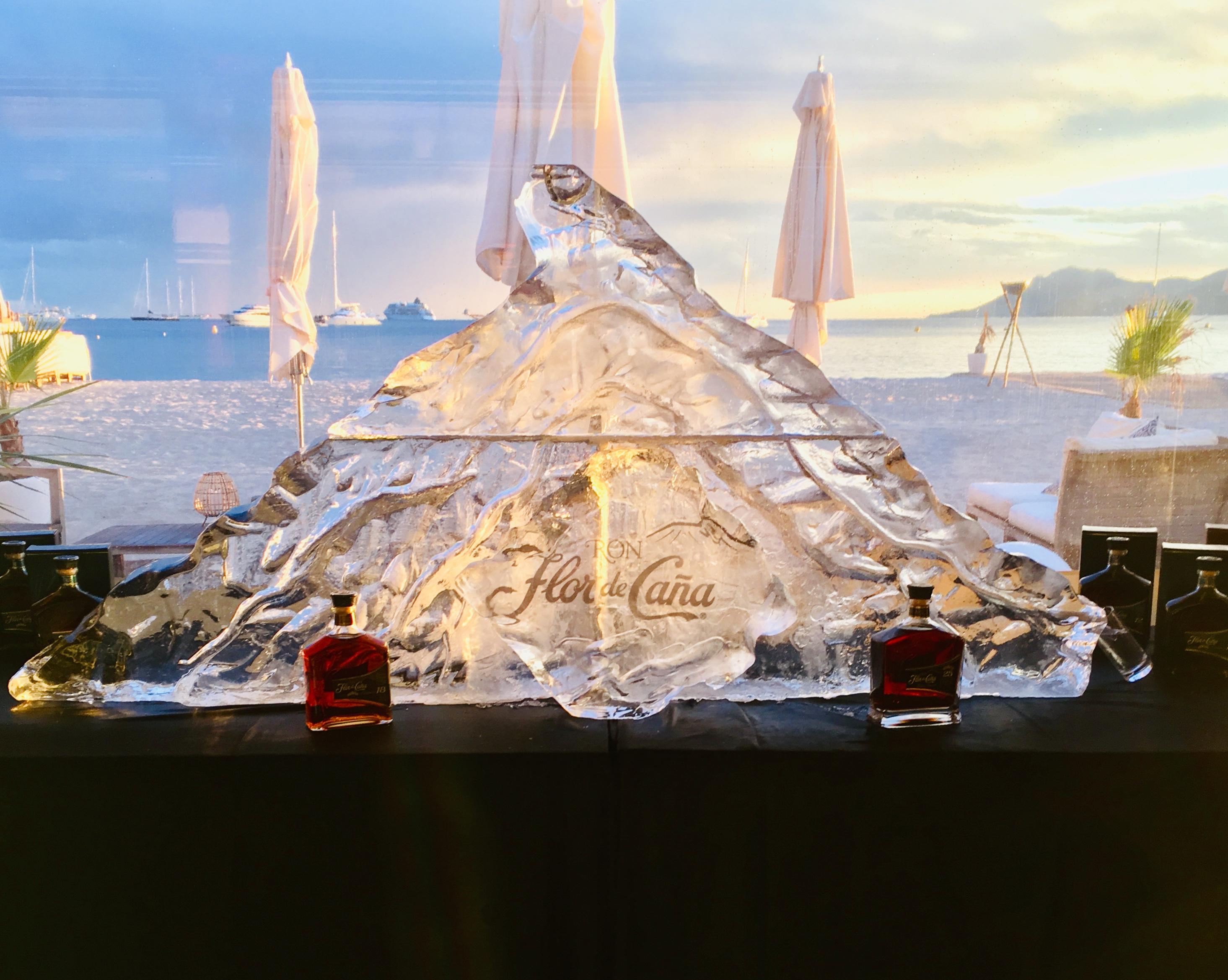 Sculpture sur glace Cannes