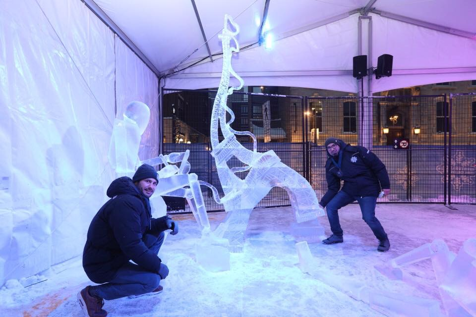 Sculpture sur glace, Ottawa