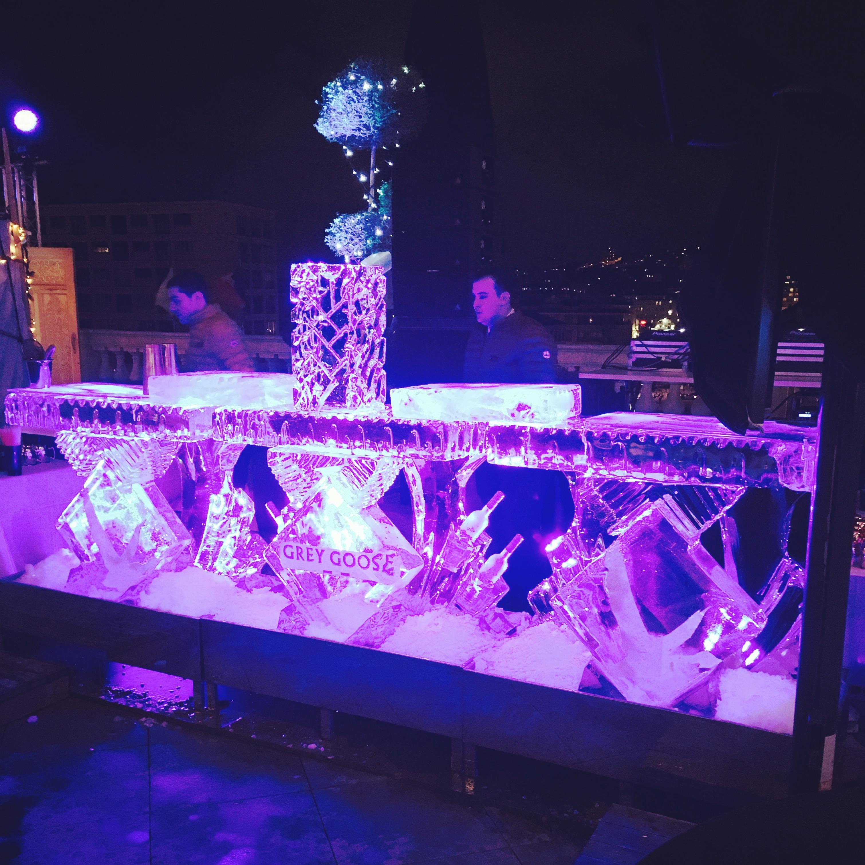 , sculpture sur glace France