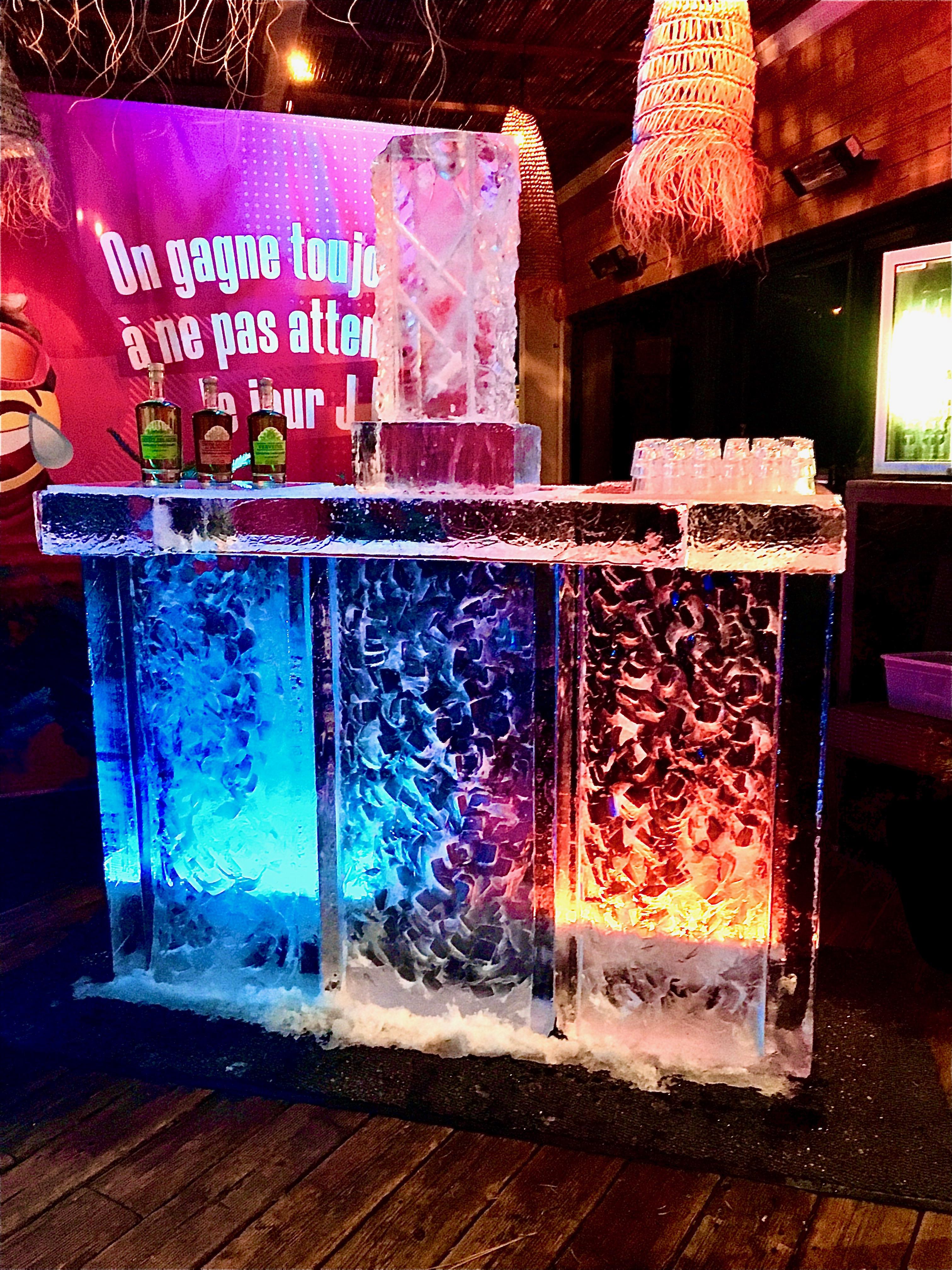 Sculpture sur glace, Ice sculpture