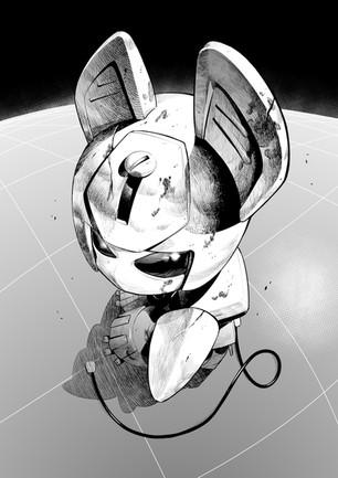 ロボットイラスト*版権絵