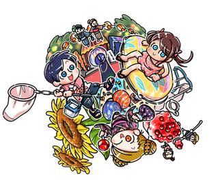 夏休み・イラスト