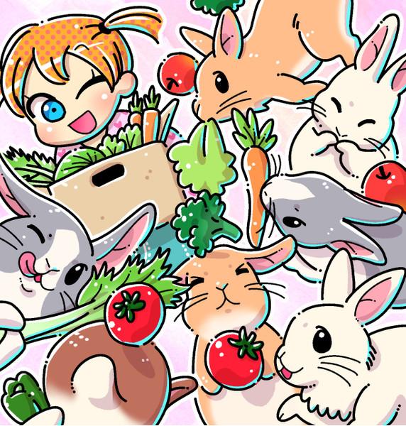 ウサギの飼育係