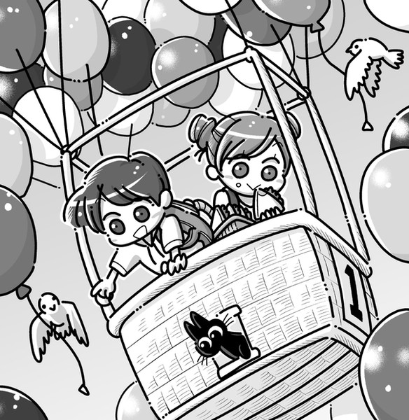 風船の気球