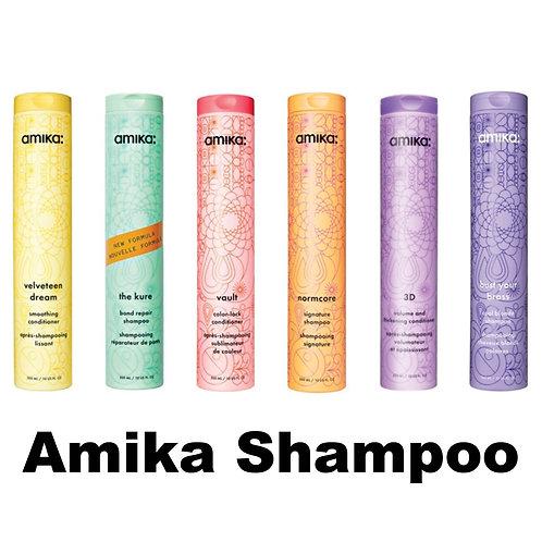 Amika Shampoos
