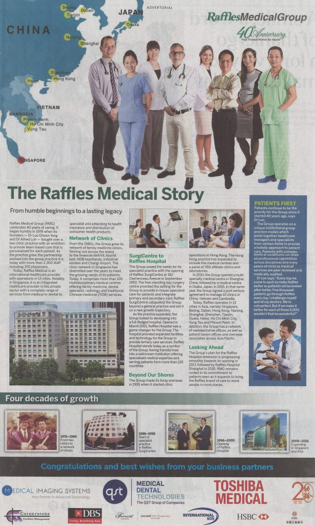 Raffles Medical Story