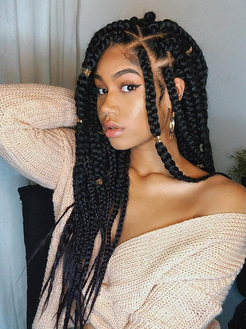 Women's Hair Braiding Appointment (Deposit)