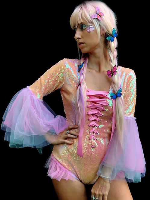 Princess Sequin Bodysuit