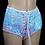 Thumbnail: Iridescent Pink/Blue Sequin Shorts