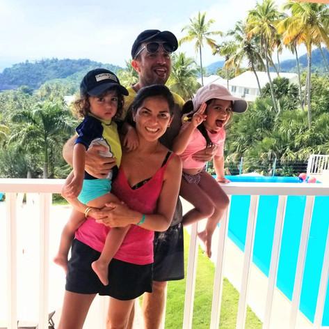 Nancy y sus hijos (Israeli-Peruanos)