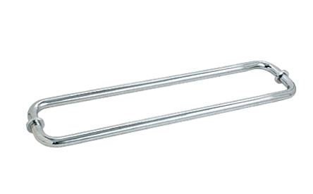 "ITB24X24CMBN Towel Bar Brushed Nickel Back to Back CTC 24"" With Metal Washer"