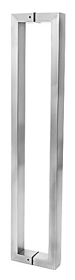 """IGH55554EDBS Brushed Stainless CTC15"""" Back-to-Back Pull"""