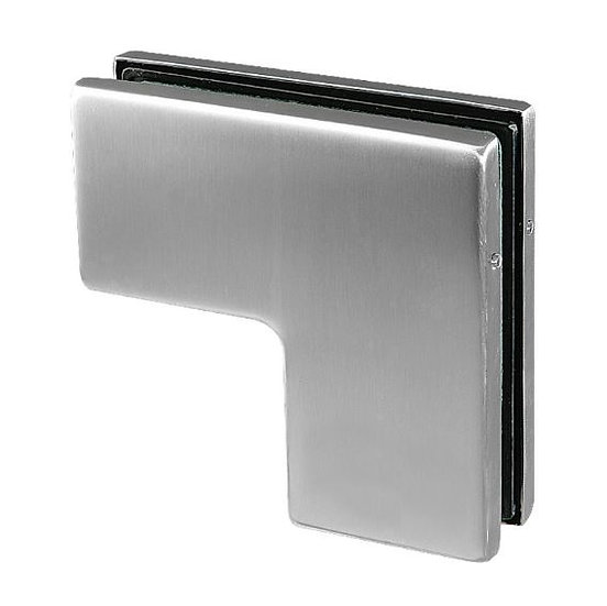 IPF610BSS  Sidelite Mounted Transom Patch with Reversible Door Stop SS304