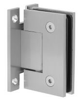 H-ISH111EDBN Brushed Nickel Wall To Glass Hinge (H Plate)