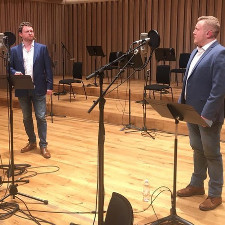 Session Recap: Recording With Forever Tenors