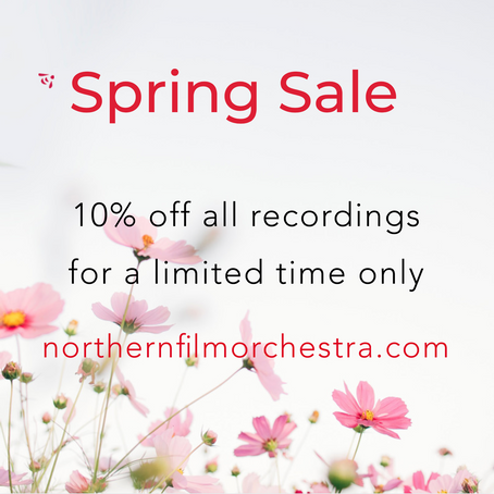 Announcing Our Spring Sale