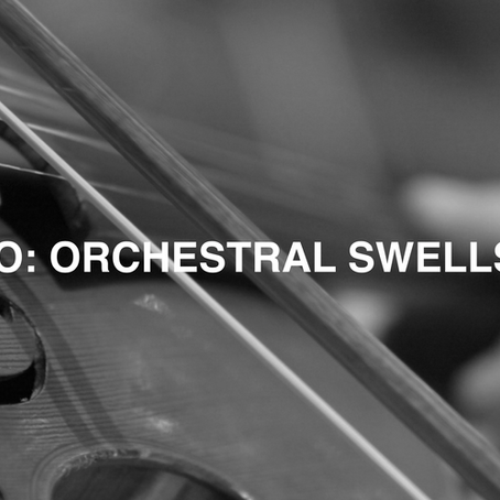 NFO: ORCHESTRAL SWELLS - Our new free orchestra sampler instrument produced by Dan Keen.
