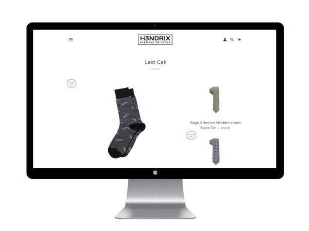 H3ndrix Product UI