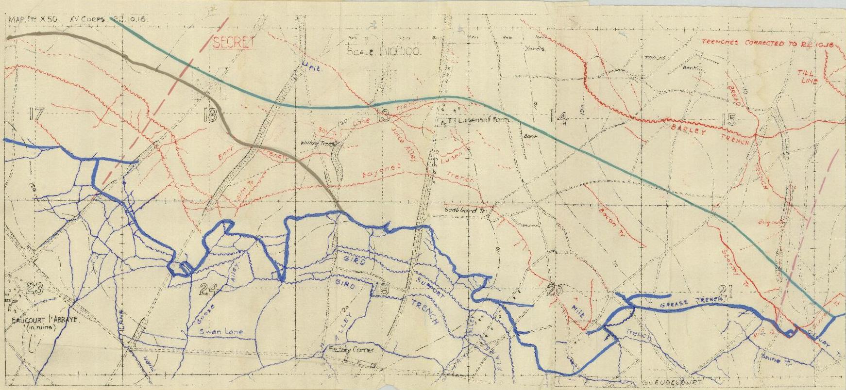 War Diary Map