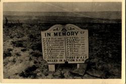 Battlefield Memorial / Cemetery
