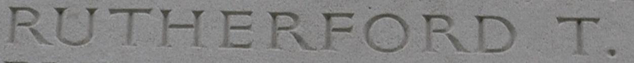 Thomas' name