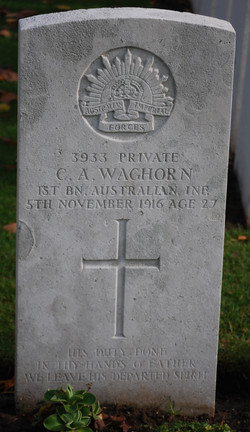 Cyril's Headstone