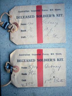 William's kit labels
