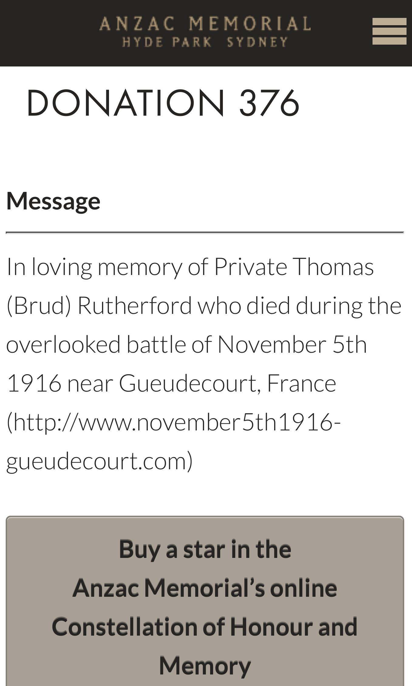 Remembering Thomas