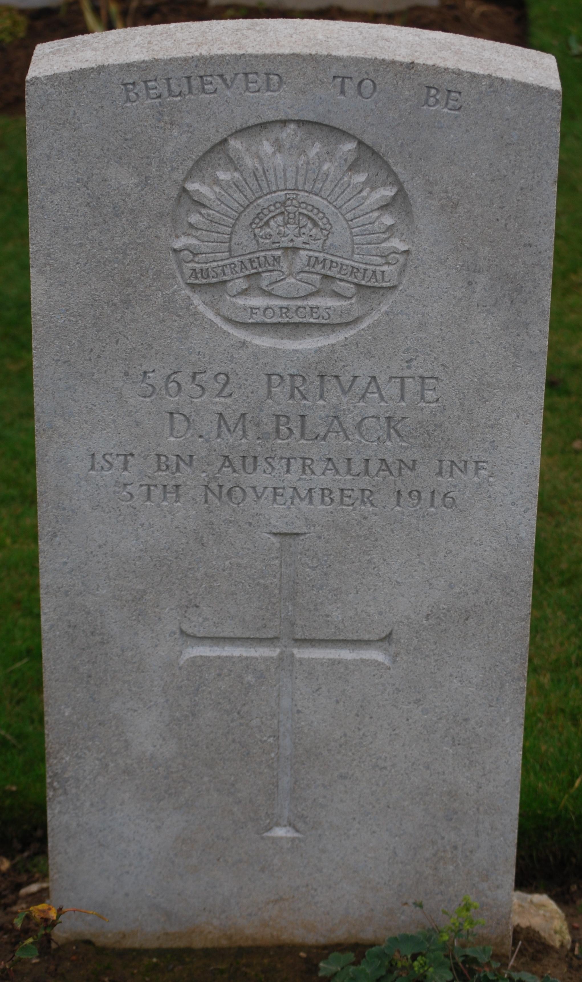 Douglas' Headstone