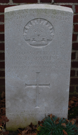 Wilfred's Headstone