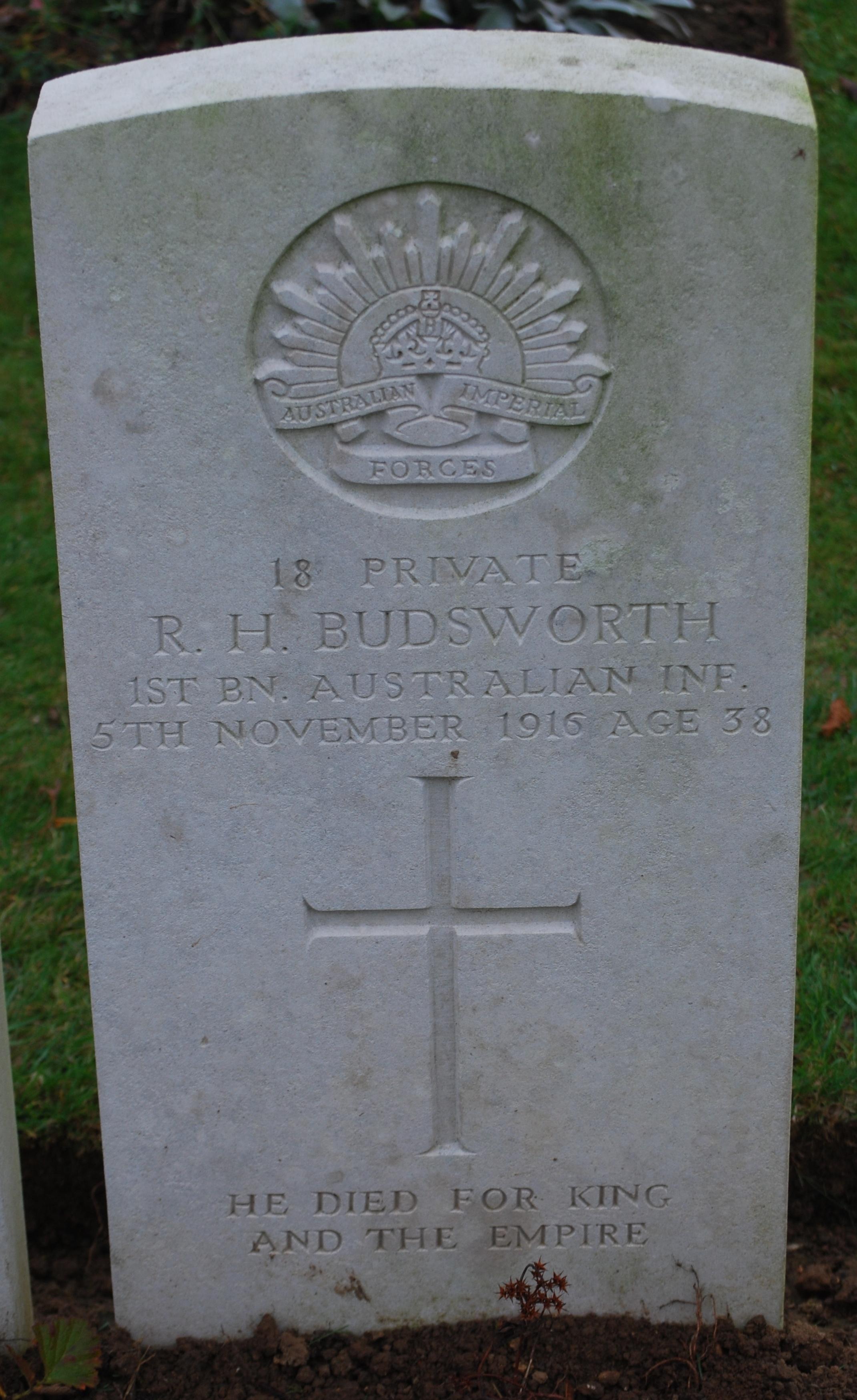 Roderick's Headstone