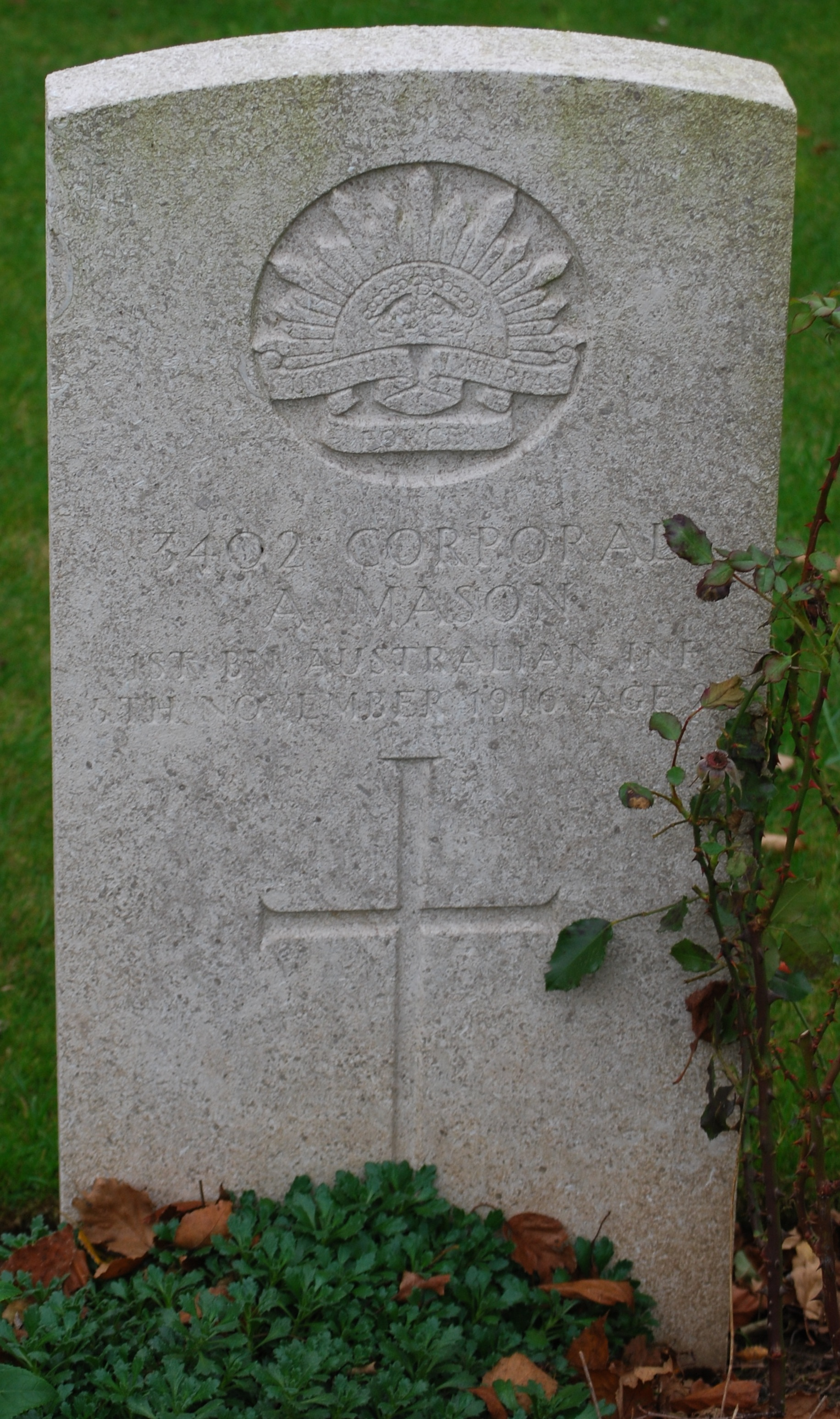 Ambrose's Headstone