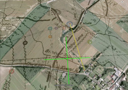 Overlayed Trench Map with yards