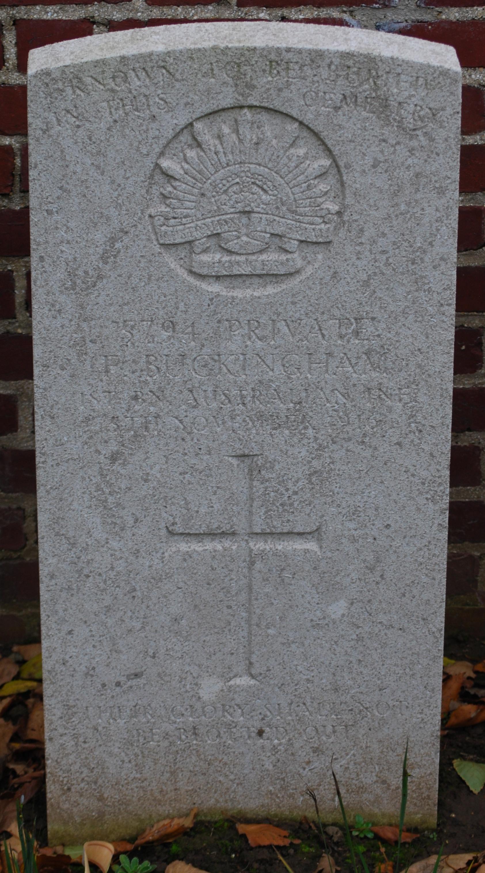 Frederick's Headstone
