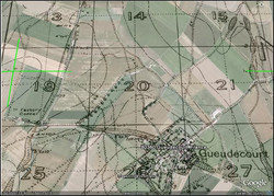 Overlayed Trench Map