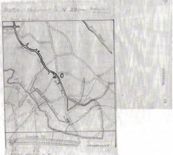War Diary Gueudecourt Trench Map