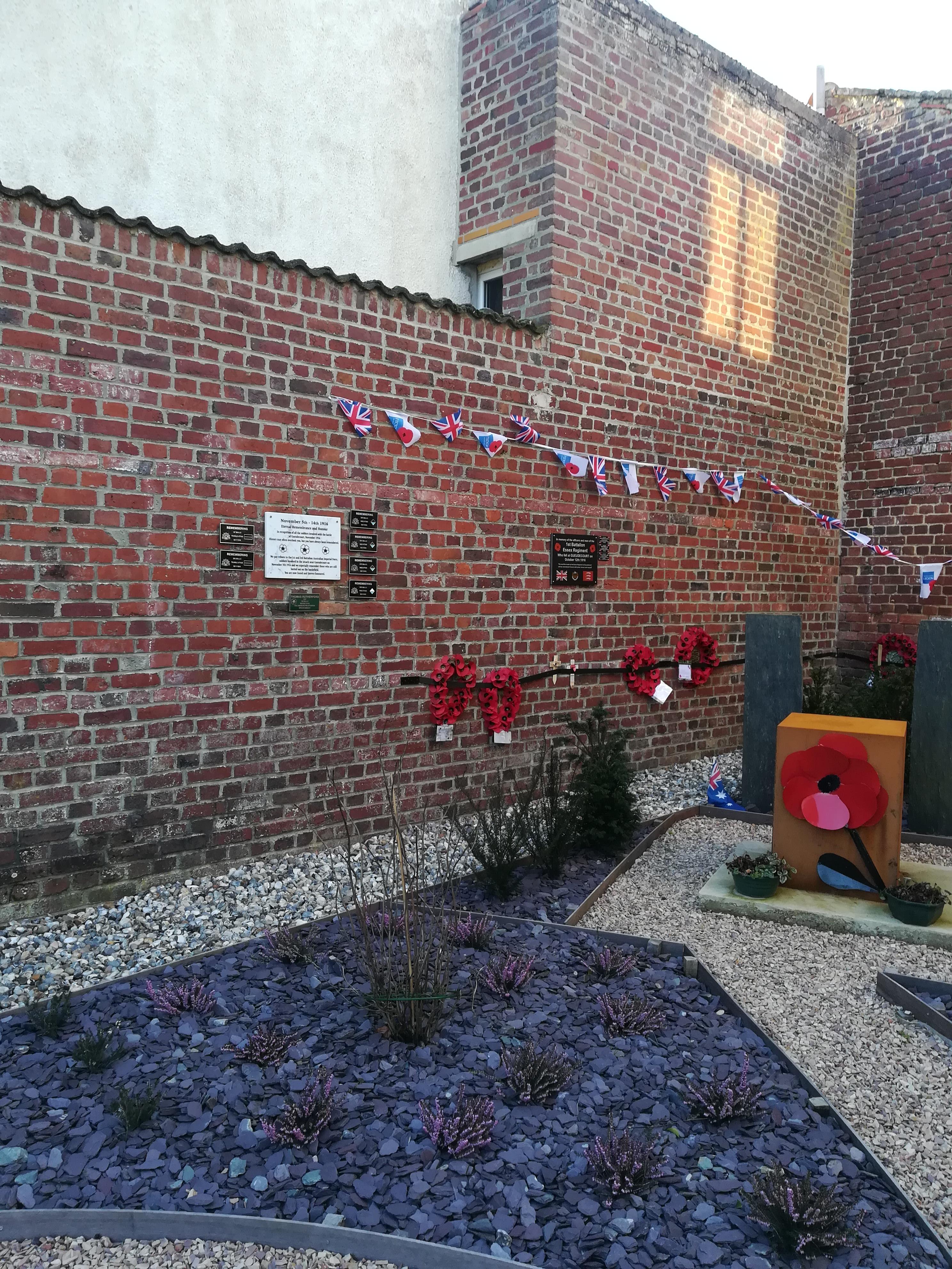 Gueudecourt Memorial Garden