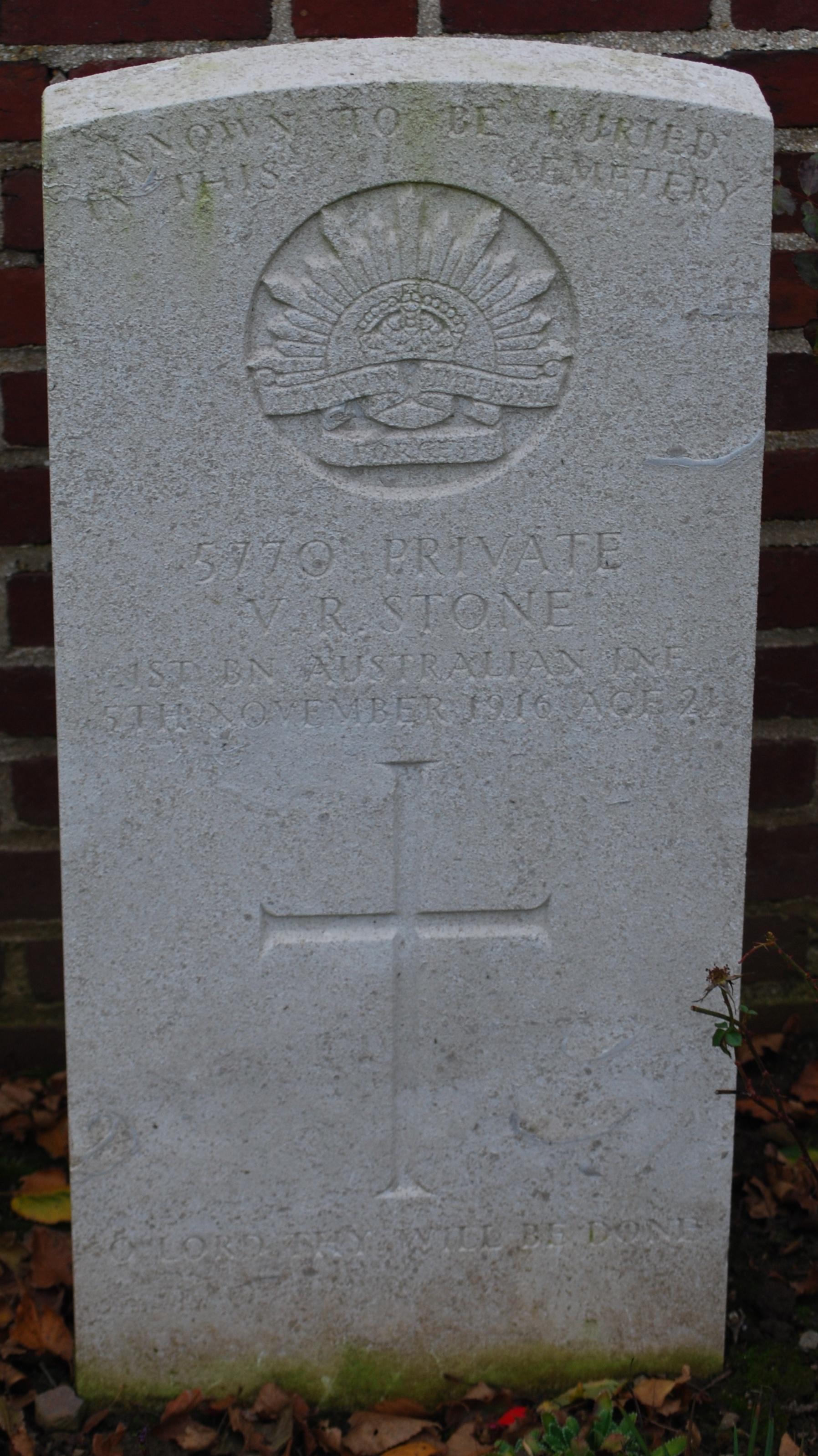 Vincent's Headstone