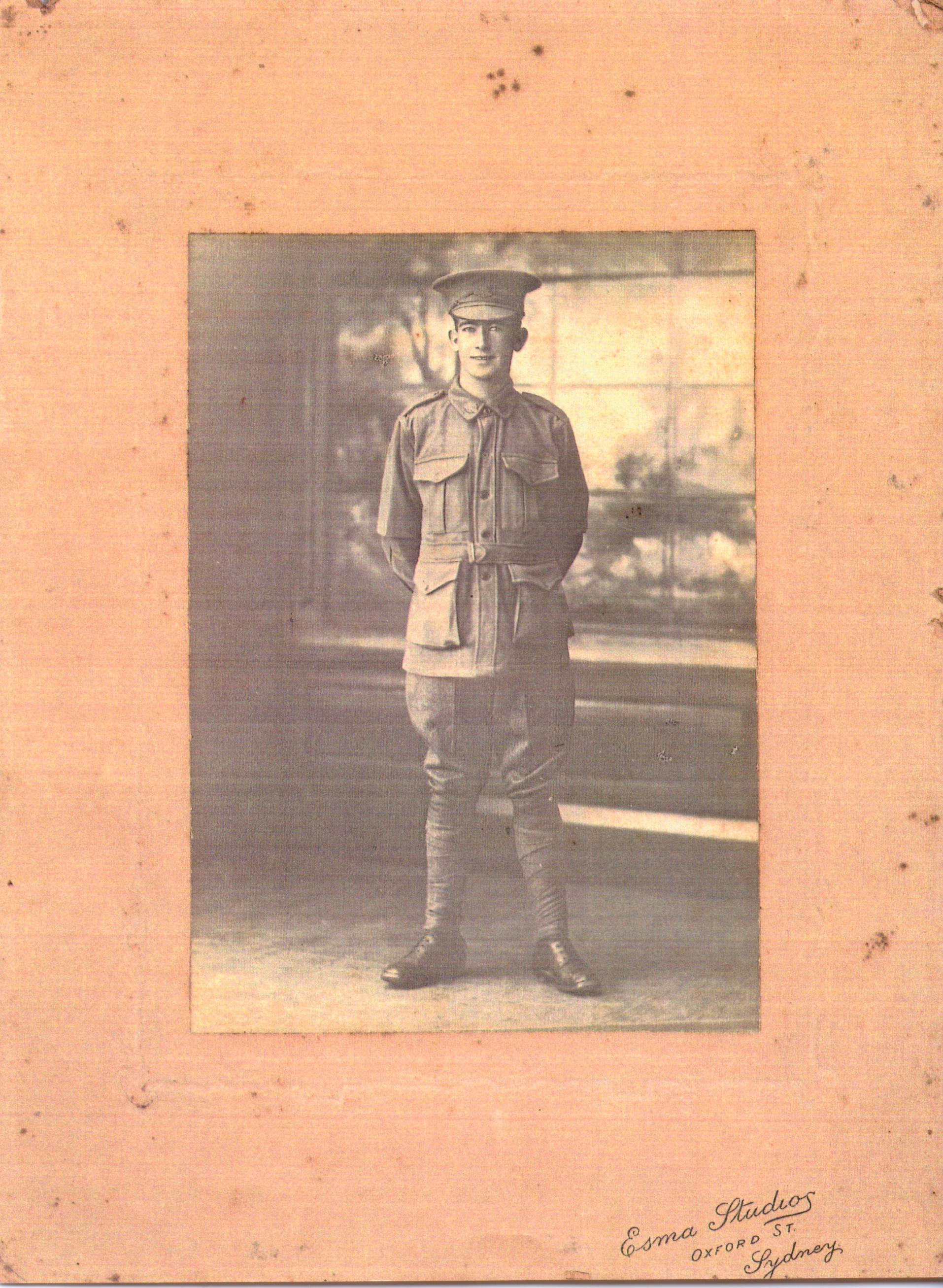 5704 Pte William Gibney 1916