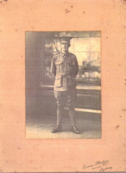 5704 Pte William Gibney 1916