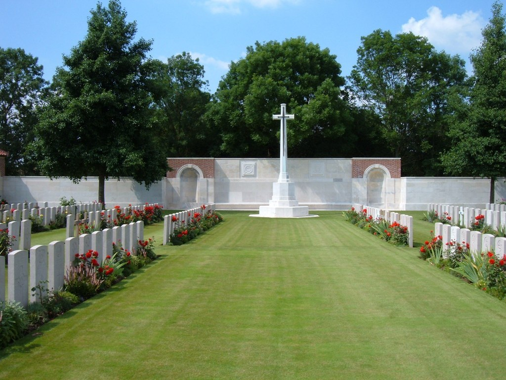 Grevillers British Cemetery