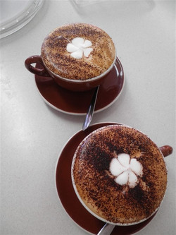 Our hot chocolate