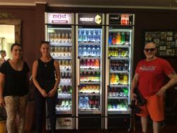 Our Coke team