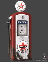 1950s Petrol Bowser