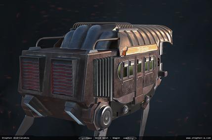 Artstation Challenge - Wagon