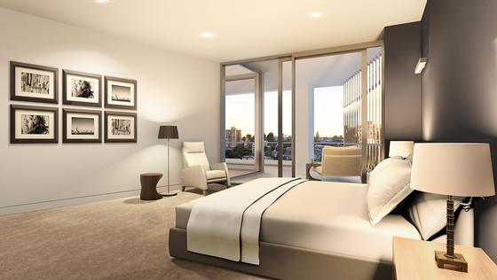 CliffStreet Bedroom