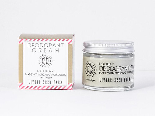 Holiday Natural Deodorant Cream - Limited Edition
